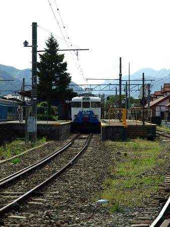 河口湖駅にて(8)