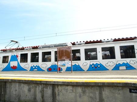 河口湖駅にて(20)