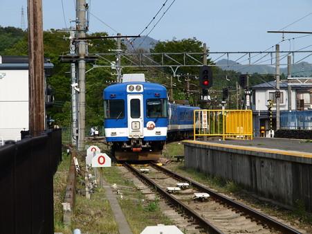 河口湖駅にて(35)