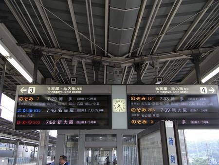 新幹線新横浜駅ホーム