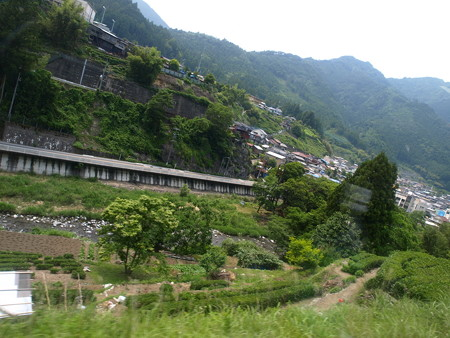 飯田線の車窓