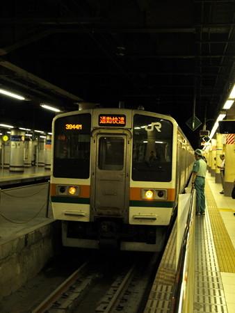 211系(上野駅)1