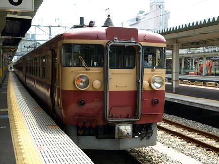 475系(富山駅)8