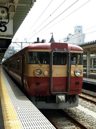 475系(富山駅)9