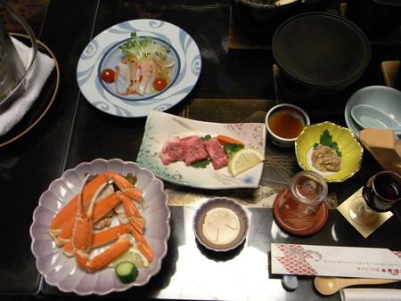 ホテルの食事1