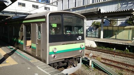 横浜線205系 (橋本駅)