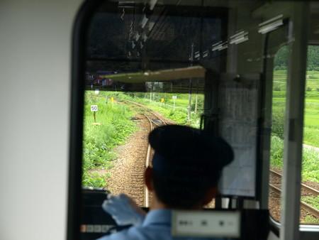 のと鉄道車窓(西岸駅→能登中島)1