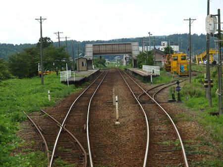 のと鉄道車窓(能登中島→西岸)1