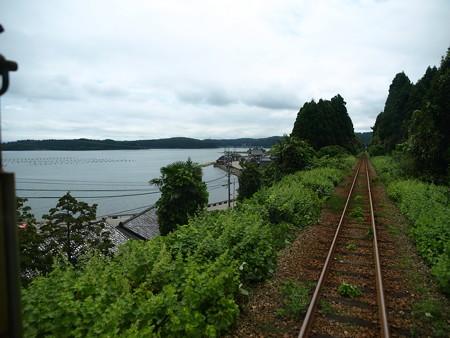 のと鉄道車窓(西岸→能登鹿島)6