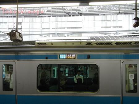 E233系京浜東北線(横浜駅)1