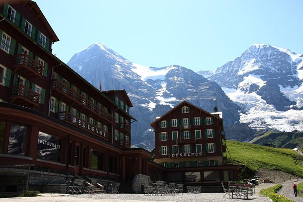 Hotel Bellevue des Alpes
