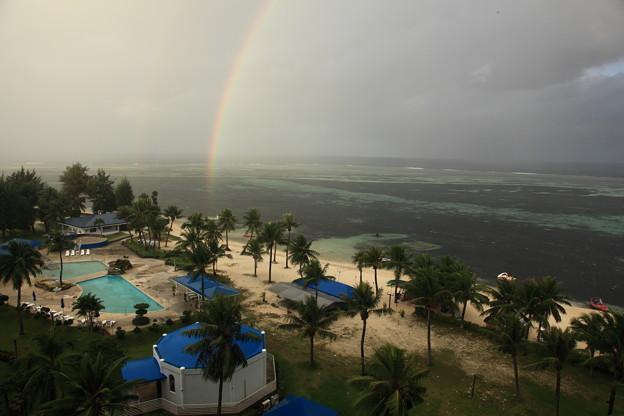 海上の虹1