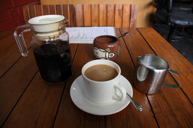 凄い量のコーヒー