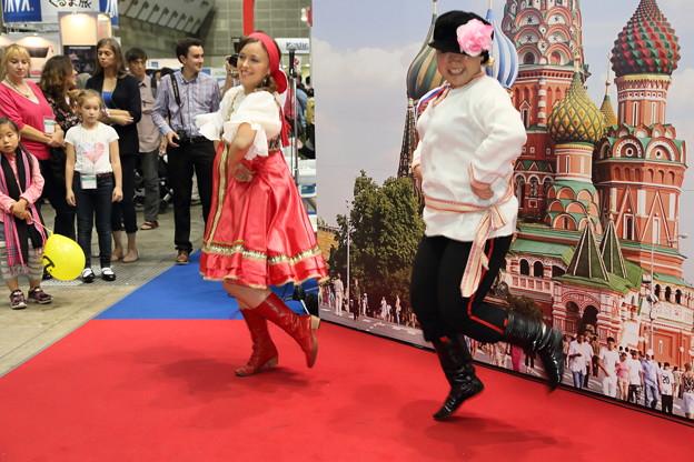 ロシアの民族舞踊4