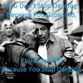 写真: stop dancing