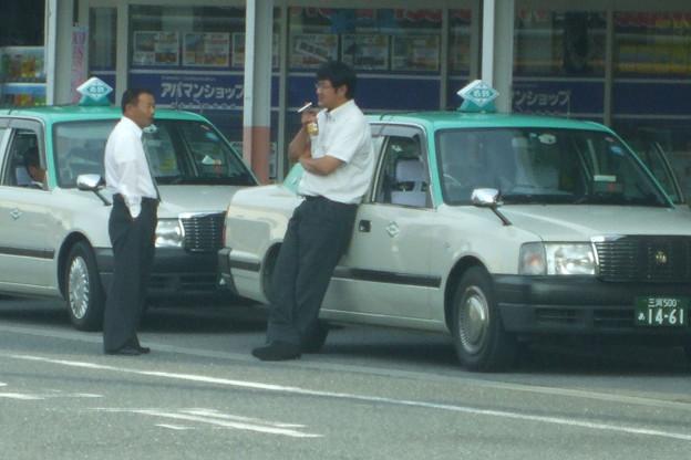 タクシーに無煙化は無縁か