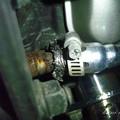 写真: エアインジェクターの排気漏れ?