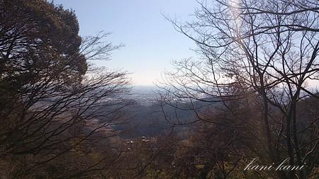 唐沢城 三の丸跡からの景色