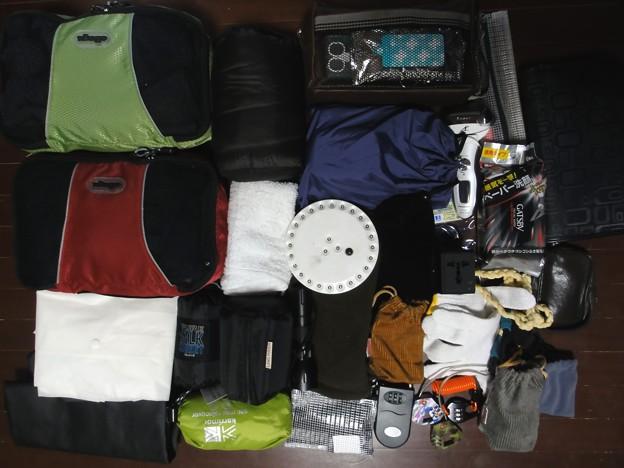 メインの荷物