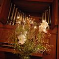 ウエディングの会場装花