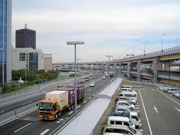 阪神高速3号神戸線京橋PAからの眺め