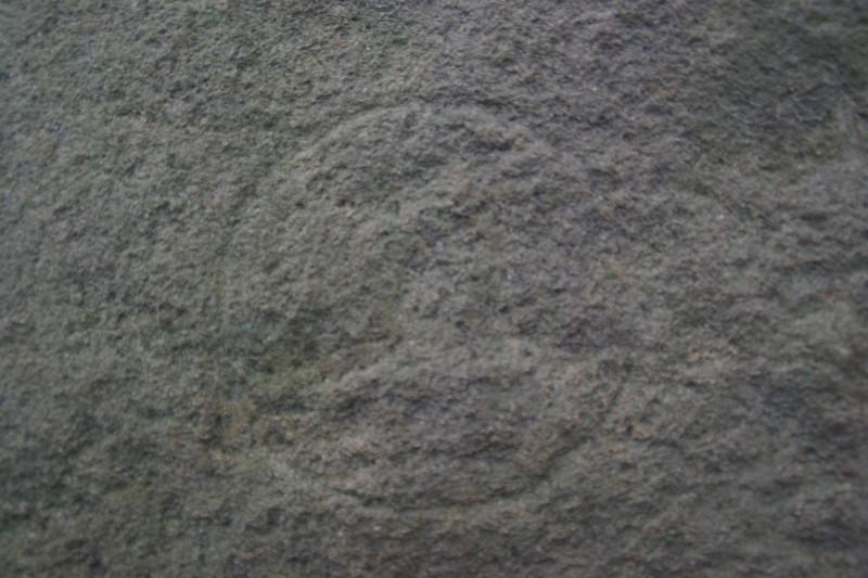 子城台倭城に残る刻印