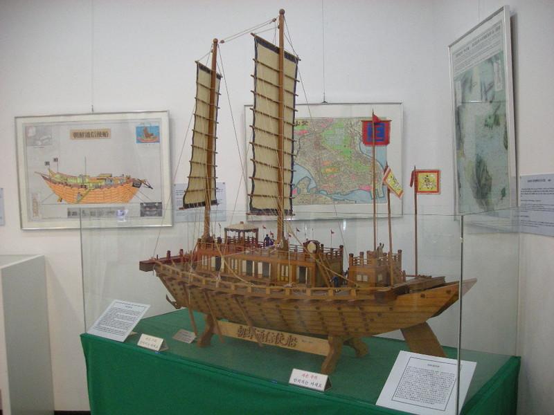 亀甲船の模型