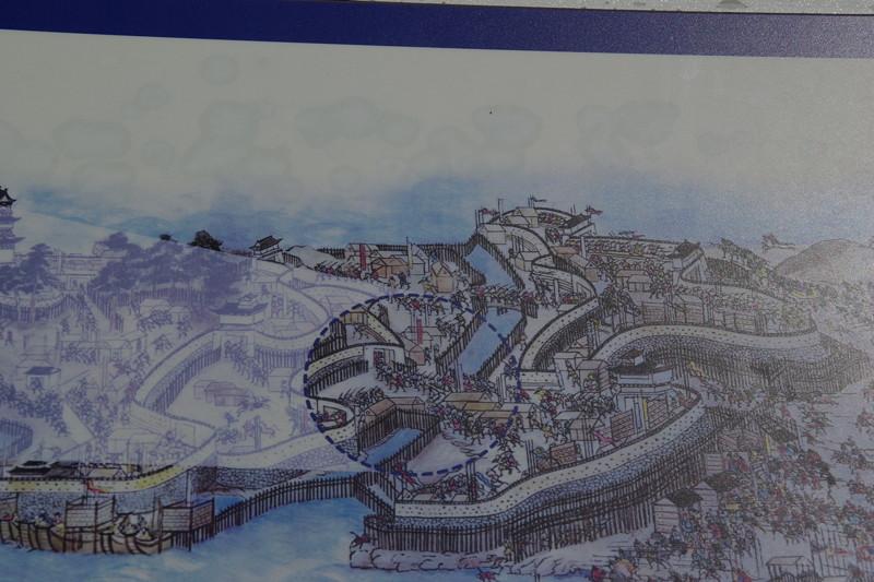 土橋古絵図