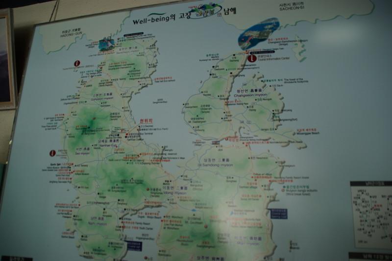 南海島地図