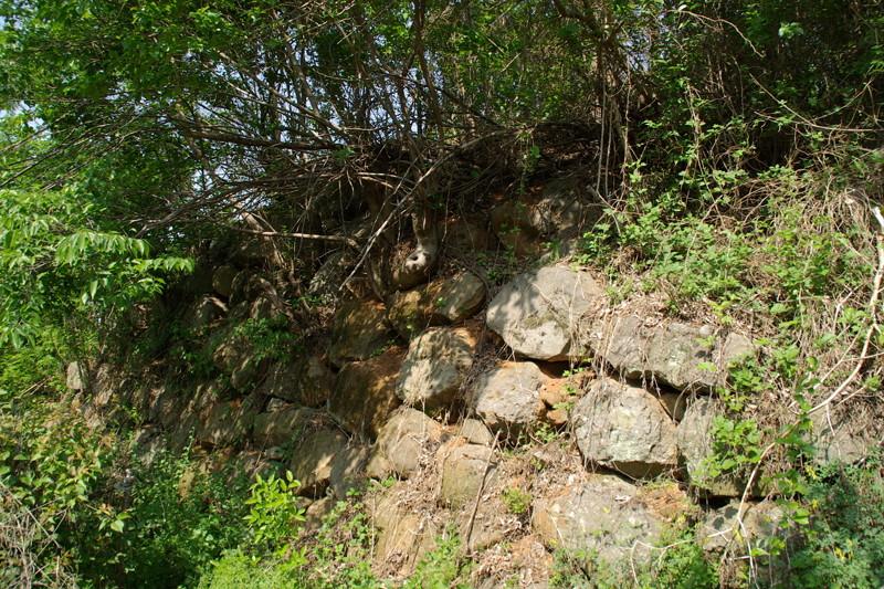 南海倭城石垣2