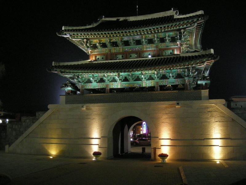 晋州城夜景