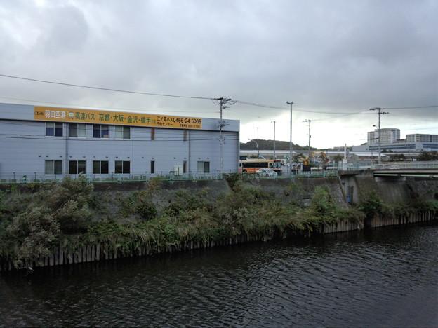 江ノ電バスの車庫