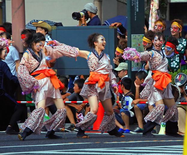 岡山市の桃太郎祭り「うらじゃ」。。