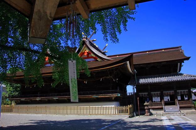 吉備津神社、国宝の本殿
