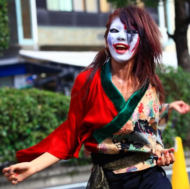 ★ 岡山「うらじゃ」踊り、鬼女 ★