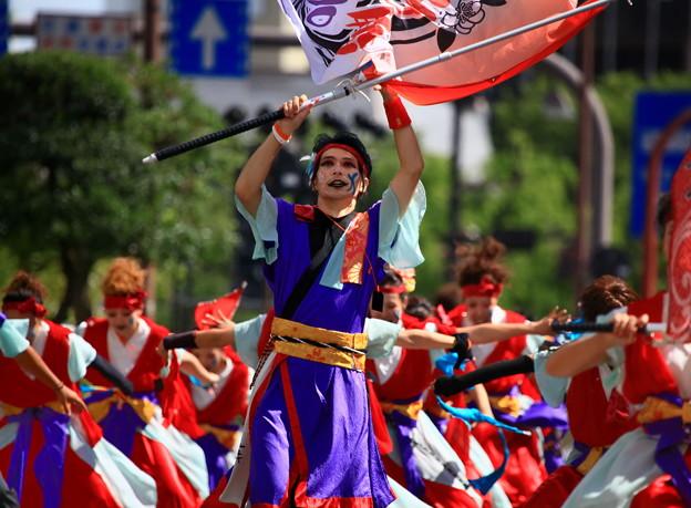 岡山桃太郎祭り「うらじゃ」踊り ♪