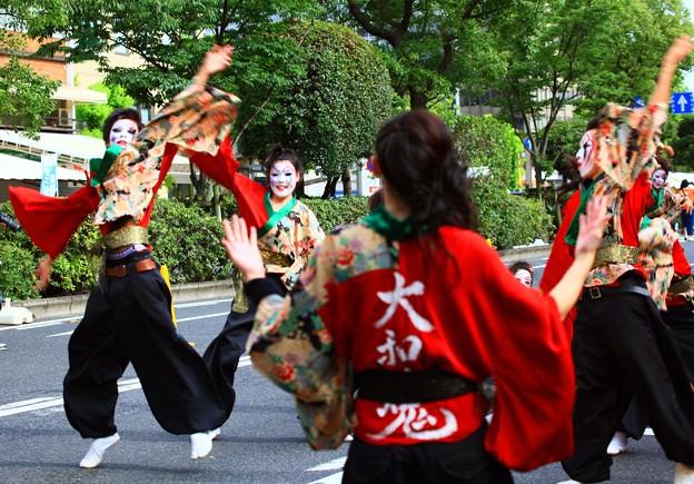 岡山桃太郎祭、うらじゃ ♪