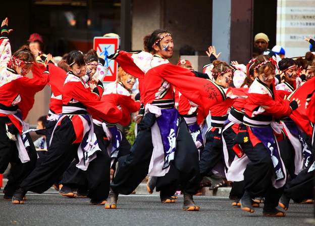 岡山桃太郎祭り「うらじゃ」踊り ☆