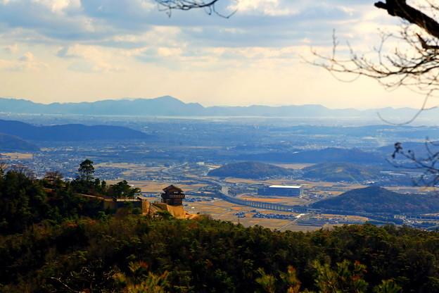 天空の古代山城「鬼ノ城」、岡山県総社市