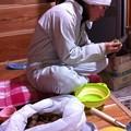 Photos: キウイの皮剥き