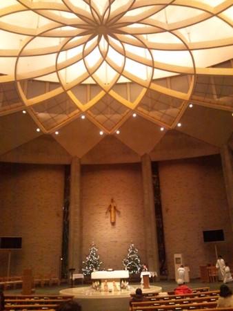 聖イグナチオ教会 クリスマス仕様