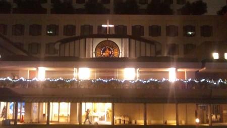 マリア聖堂 クリスマス仕様