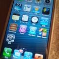 写真: iPhone5が0円だったのでゲットしました。全然まだ操作がわかりません(;´▽`