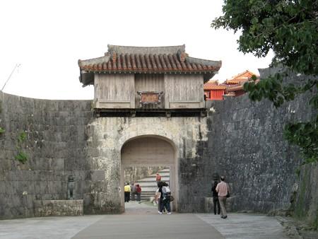 沖縄 首里城歓会門 20071115