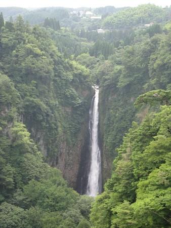 九重 夢大吊橋05 震動の滝