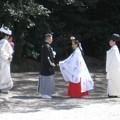 写真: 熱田神宮08 結婚式2