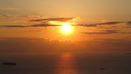 鋸山展望13―夕陽6
