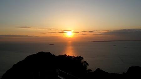 鋸山展望14―夕陽7
