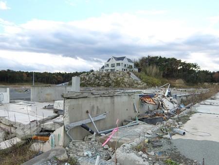 311津波の爪痕5:相馬郡新地町大戸浜3