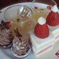 Photos: 1段目ケーキプレート